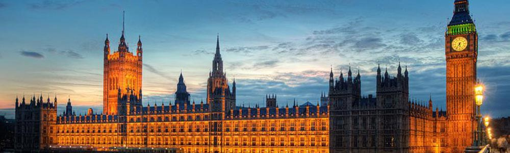 guided tours of The Houses of Parliment