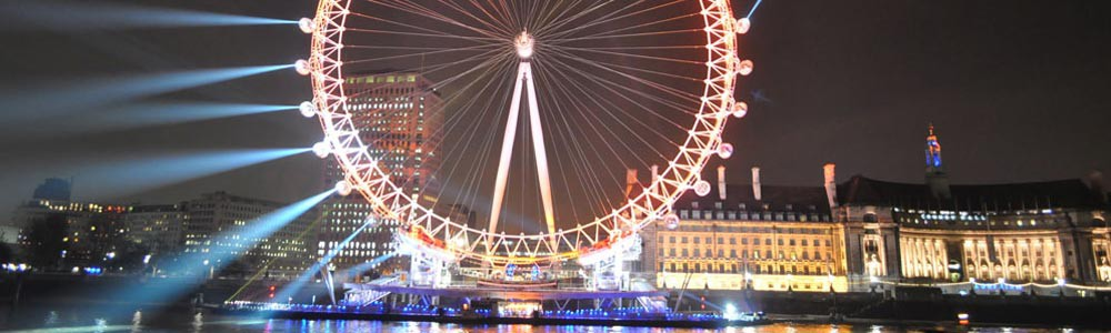 Night time tours of London